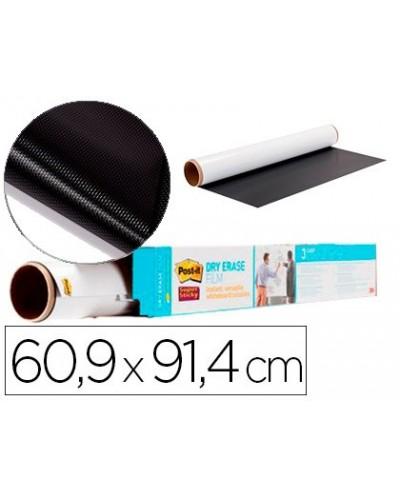 Pizarra blanca post it super sticky rollo adhesivo removible 609x914 cm