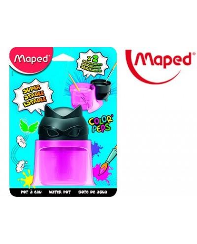 Limpiador de pinceles maped color peps 2 compartimentos superheroes