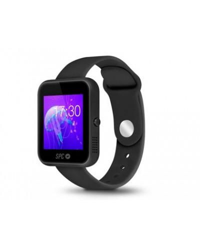 Smartwatch spc smartee slim ultrafino bluetooth 40 podometro pantalla 154 color negro