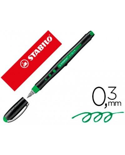 Rotulador stabilo roller ball blck 03 mm verde
