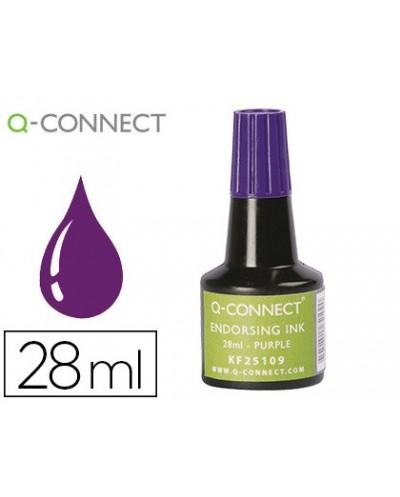 Tinta tampon q connect violeta frasco 28 ml