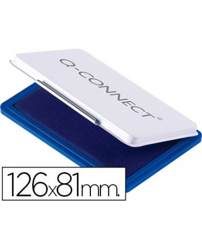 Tampon q connect n1 126x81 mm azul
