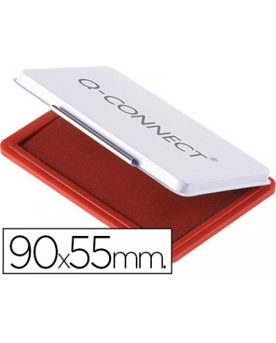 Tampon q connect n3 90x55 mm rojo