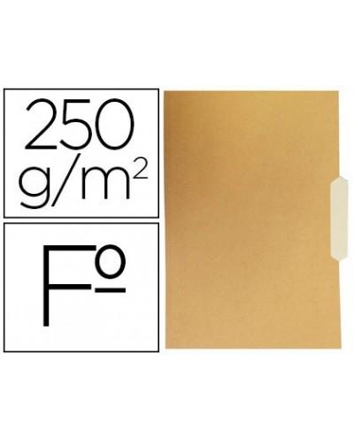 Subcarpeta cartulina gio folio pestana central 250g m2 bicolor