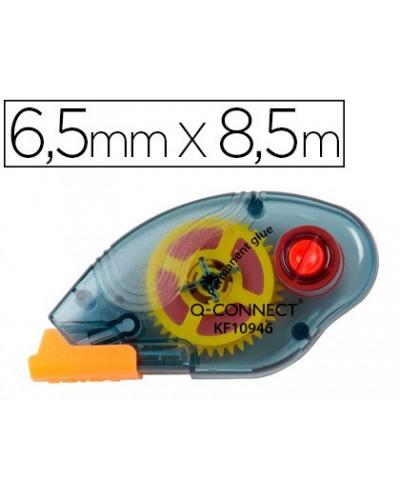 Pegamento q connect roller compact permanente 65 mm de ancho x 85 mt unidad