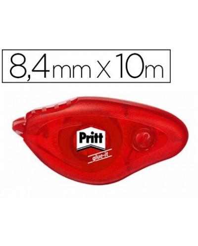 Pegamento pritt roller compact permanente 84 mm x 10 m