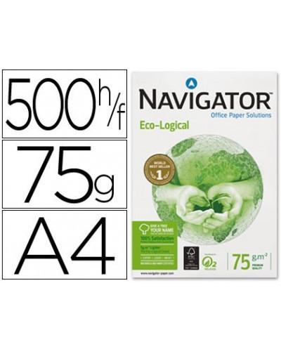 Papel fotocopiadora navigator eco logical din a4 75 gramos paquete de 500 hojas