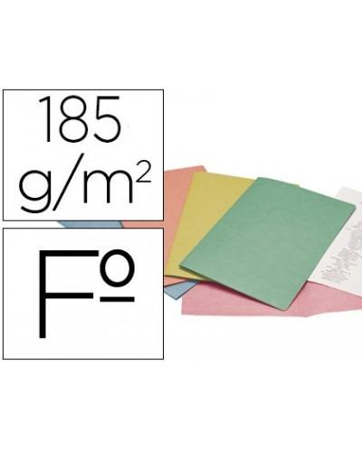 Subcarpeta cartulina liderpapel folio colores surt ptede 25 sdasretractiladas