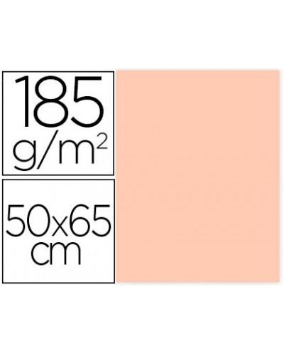 Cartulina guarro carne 50x65 cm 185 gr