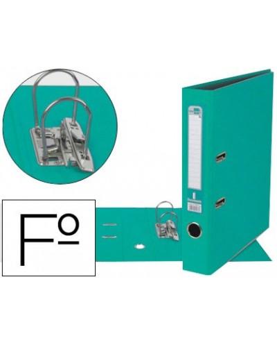 Archivador de palanca esselte carton forrado pvc folio lomo de 50 mm con rado azul